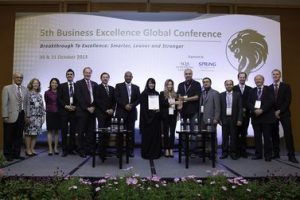 Knowledge and Human Development Authority (United Arab Emirates) were winners of the 2nd Global Benchmarking Award